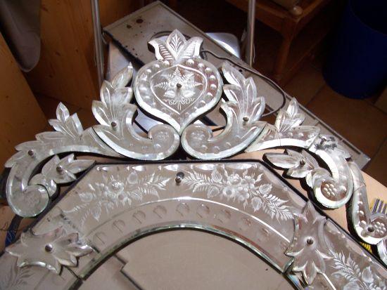 sch ler bleikristall spiegel restaurierung. Black Bedroom Furniture Sets. Home Design Ideas