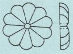 Rosette 4700/70 mm