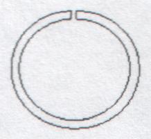 Ring 9170/8 mm silber