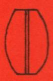 Ovale kugel glatt