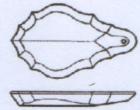 Pendeloque 125x70mm