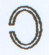 Ring oval 9171/8x6mm cromfarben