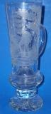 Bierkrug aus Glas mit gravur 1.0l 23/116