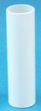 Kerzenhülseaus aus kristallglas weiss deckend 19882/100