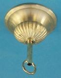 Lampenbaldachin  Messingguss B27