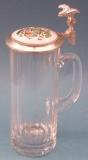Deckelschoppen Eckschliffseidel 1/2 liter 23/181