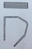 Clip 9185/11x10mmmm silberfarben