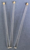 Glasstab jugendstil länge 100mm