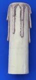 Kerzenhülse mit Tr.antik 85mm
