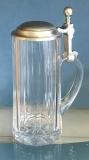 Bierkrug  zinndeckel 0,3 L