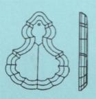 Pendeloque 4425/100x64 mm