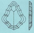 Pendeloque 4450/100x64 mm