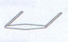 Clip 9152/11 asymmetrisch