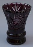 Vase Schleuder Überfang amethyst 1015/12 cm