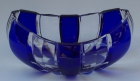 Jardinere Überfang kobaltblau 4521/21 cm