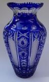 Vase Paris Überfang kobaltblau 1041/39 cm