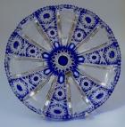 Teller Paris Überfang kobaltblau 4800/29 cm
