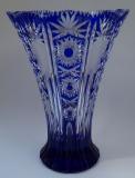 Vase Paris Überfang kobaltblau 1015/32 cm