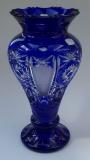 Vase Paris Überfang kobaltblau 1354/31 cm