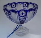 Schale Paris Überfang kobaltblau 154/25 cm