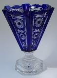 Vase Paris Überfang kobaltblau 156/26 cm