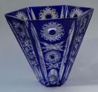 Vase Paris Überfang kobaltblau 156/18 cm