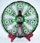 Teller Paris Überfang grün 4800/29 cm