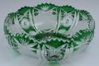 Schale Paris Überfang grün 102/17 cm