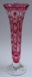Vase Paris Überfang goldrubin 1024/26 cm