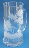 Bierkrug Jagdgravur 0,5 Liter
