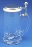 Bierkrug aus Glas 0,5 Liter 23/132