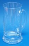 Bierkrug aus Glas 0,5 Liter