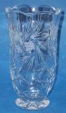 Bleikristall Vase Schleuderstern