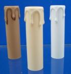 Kerzenhülse E14 mit Tropfen, 24 mm