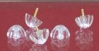 Spiegelrosetten aus Glas 9924/50 mm