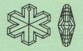 Schneekristall 4113/35 mm